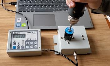 富士康公司采购用于苹果流水线自动螺丝机扭力测试仪