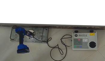 宁波市威优特电器采购我司M2I系列扭力测试仪用于测试无刷电钻
