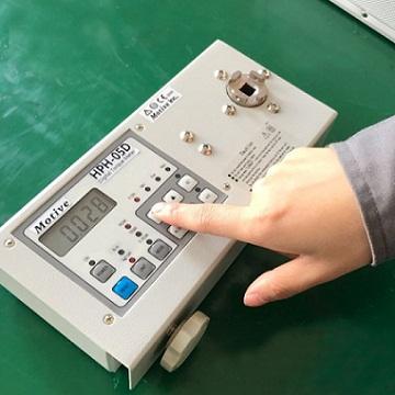 富士康向一诺电子采购高分辨率高精度扭力测试仪