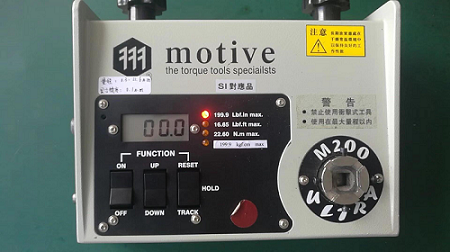 实力见证!台湾一诺M2-200扭力测试仪获得合作经销商高度评价!